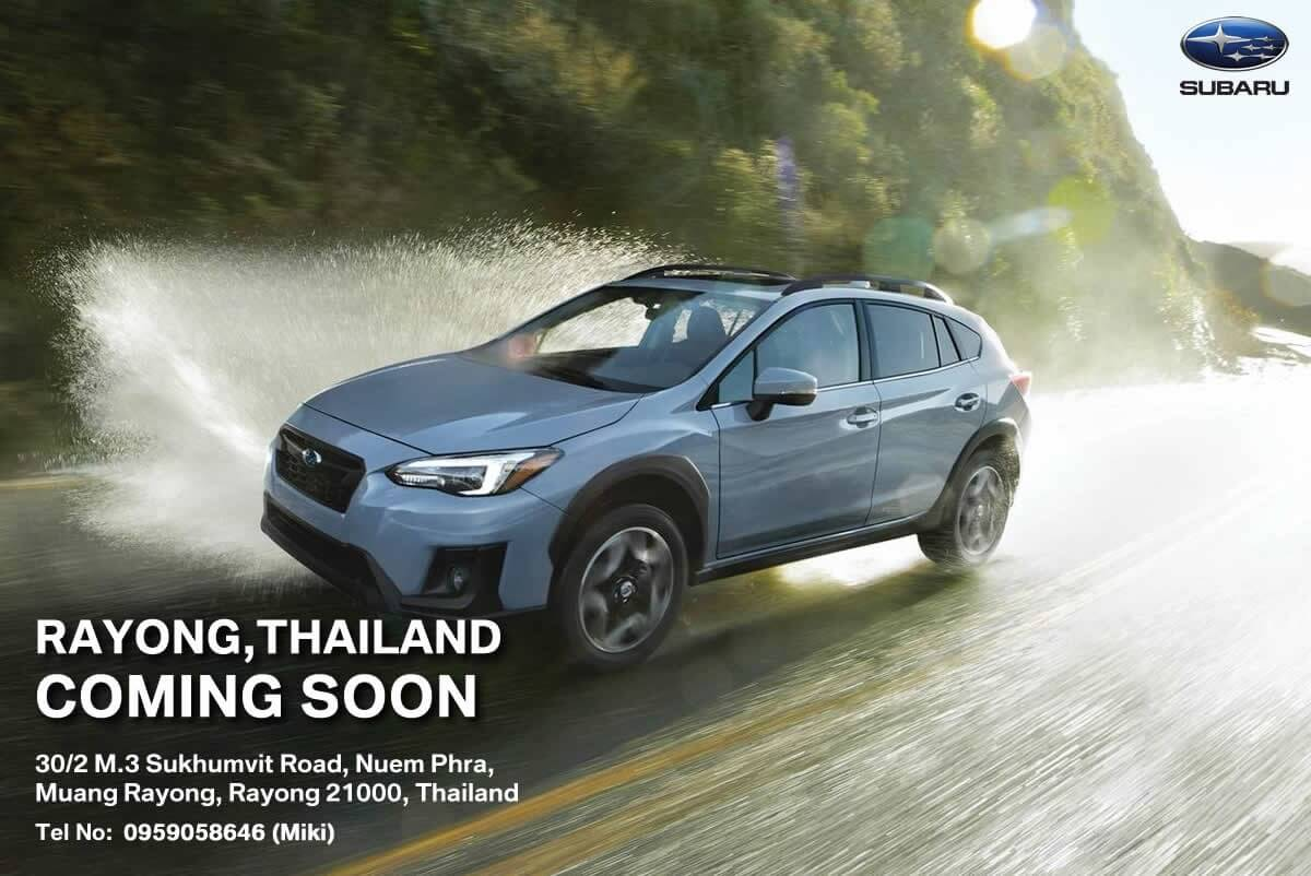 Subaru Rayong Thailand Coming Soon - AJ Premium Motors